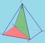 "Тест ""Піраміда. Площа поверхні піраміди. Об'ємпіраміди"""